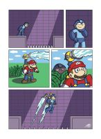 Despondent Mega Man - Float On by JesseDuRona