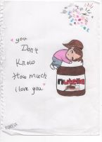 Nutella:3 by littleredd98