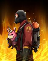TF2-Pyro by DeluCat