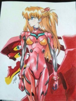 Asuka Langley Sohryu. by Zayre706