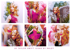06 Taylor Swift Icons by HayleyGuinevere