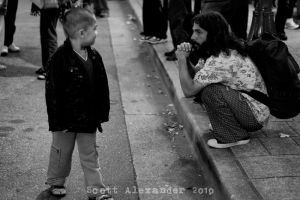 Mutual curiosity.. by straightfromcamera