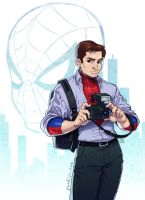 Peter Parker by CamiFortuna