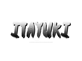 Commission: ItaYuki LOGO by AkAaiShirOkuchi