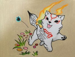 Okami Pup! by K-Flash