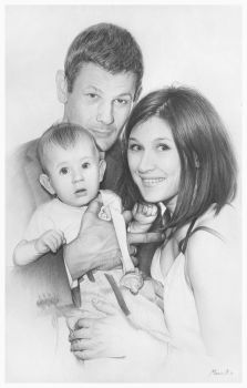my first family portrait by AndriyMarkiv