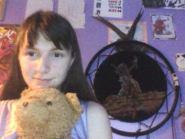 This is me and my bear by GolfingQueen