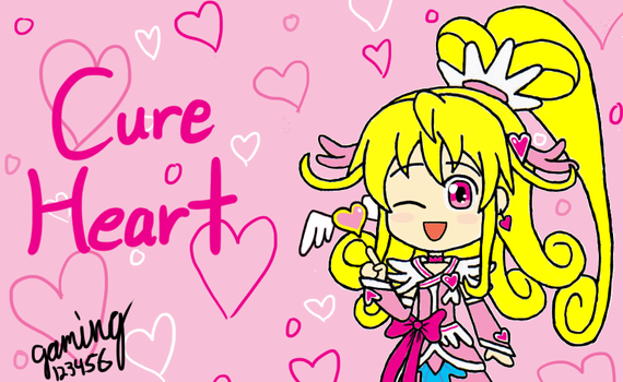 DokiDoki Precure - Cure Heart by gaming123456