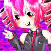 Teto Kasane colored by XPockyDemonX