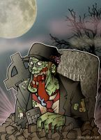 The Nostalgia Zombie by cool-slayer