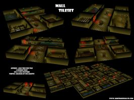 Mall Tileset by JimmyMarshall