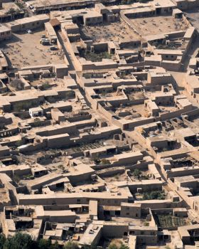 Afghan village by Ego-Trap-graphics