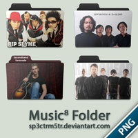 Music Folder 8 PNG by sp3ctrm5tr