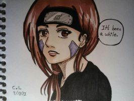 Rin Jounin (Colored) by Millie-Rose13