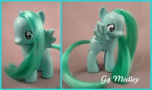G4 Medley custom pony by hannaliten
