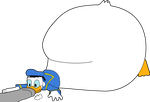 AG75 - Donald Duck Inflation by BalloonBomb