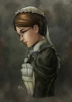 Emma the Victorian Maid by r-chie