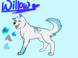 Willow Ref by ShadoWolf89