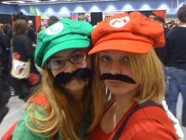 Mario and Luigi by jareth1fan