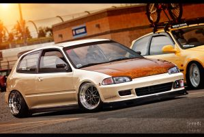 Honda Civic MocoChoco by tuninger