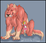 Tinkle Toot the Werewolf by Artha-Adopts
