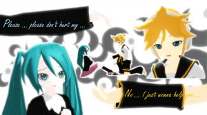 Len meets the rolling girl ... by InspirationWave