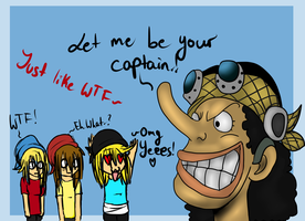 Let me be your captain.! by CrazyKaorix3