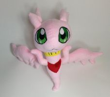 Digimon - MarineAngemon custom plush by Kitamon