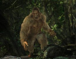 Squatch! by RawArt3d