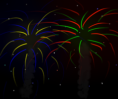 Fireworks by SnowCrystle