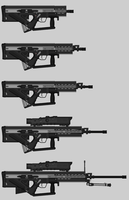 R66 rifle series by c0r8377
