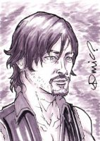 TWD Daryl Dixon ACEO by micQuestion