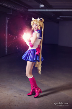 Sailor Moon Crystal I by Cosbabe