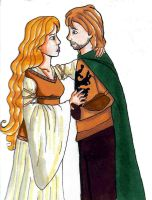 Faramir and Eowyn by bachel60