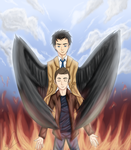 .:Destiel - Always Protecting You:. by SomaShiokaze