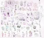 Fall 2015 Sketch Dump by BananimationOfficial