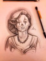 Tattooed Monroe by ASanchezDesigns