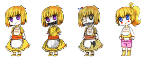 Chica (all versions) by Reikiwie