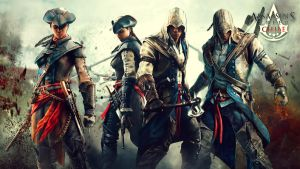 Aveline and Connor Wallpaper 1920x1080 by AssassinsCreedChile