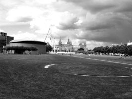 Museum square by goldmines