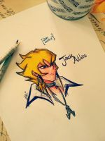 (COLORED) Jack Atlas by DarksideofChocolate