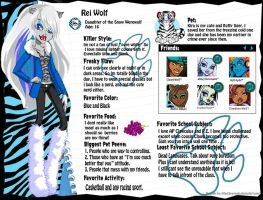 Monster High OC Rei Wolf by Dani150921