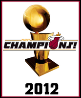 2012 NBA Champions by FJOJR