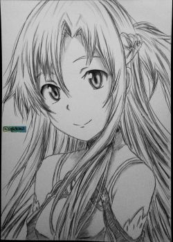 Asuna by SgkDrawing