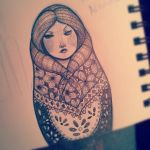 Matryoshka One by Armadria