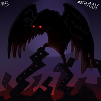 Mothman by eternalsaturn