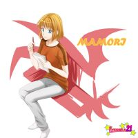 mamori in eyeshield21 by eggsding