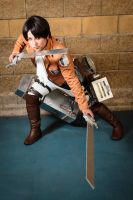 levi attack! by Irumi69