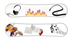 New + Old Music Snowboard by Codename-Alice