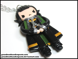Chained Loki Necklace by GrandmaThunderpants